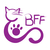 Best Friends Felines Logo